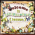 welcome to SCRAPbooking (lesson)